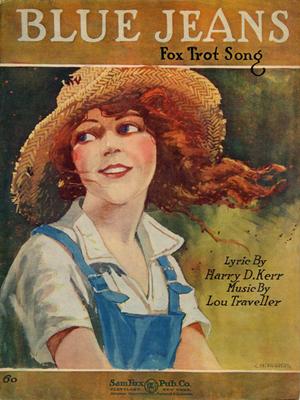 Harry D. Kerr - Image: Blue Jeans Sheet Music Cover