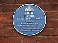 Blue Plaque on Hitchin British Schools Museum - geograph.org.uk - 1063924.jpg