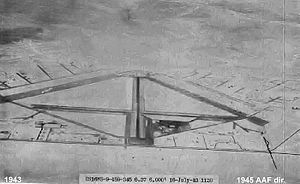 Blythe Airport - 1943 airphoto of Blythe AAF