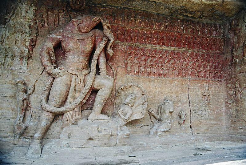 File:Boar-carving Udaigiri Vidisha.jpg