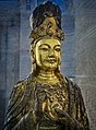 Bodhisattva Guanyin Liao China 10th century CE Penn Museum 02.jpg