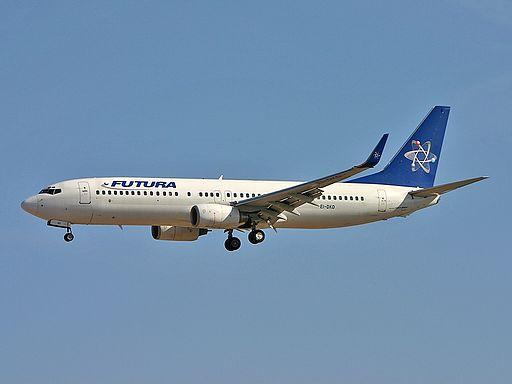 Boeing 737-86N, Futura International Airways AN0852495