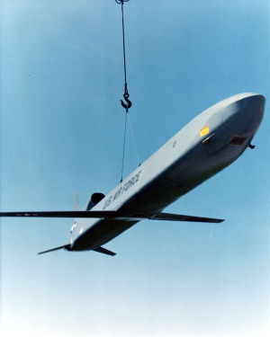 AGM-86 ALCM - Up to 20 AGM-86B missiles could be loaded onto one B-52 bomber.