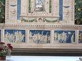 Bolsena, s. cristina, chiesa maggiore, int., ciborio di benedetto buglioni 10.JPG