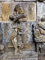 Borobudur - Divyavadana - 019 S, Musicians and Dancing Girls in the Kinnaras Court (detail 3) (11703005944).jpg