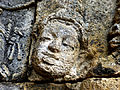 Borobudur - Lalitavistara - 011 E, The Gods venerate the Bodhisattva (detail 2) (11247917926).jpg