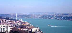 Bids for the 2020 Summer Olympics - View of the Bosphorus in Istanbul
