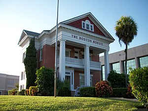 National Register of Historic Places listings in St. Lucie County, Florida - Image: Boston House