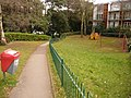 Bournemouth, small playpark in Crescent Road - geograph.org.uk - 1703790.jpg