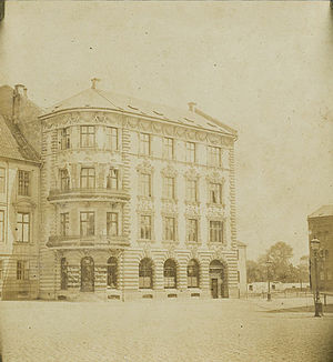 Brønnum House - Brønnum House in the late 19th century