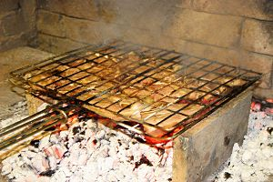 Namibian cuisine - Lamb chops on a Braai