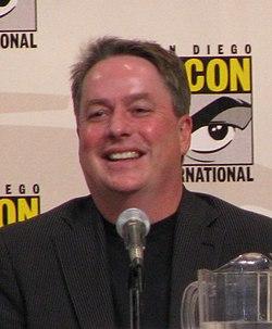Бред райт на comic con в 2008 році