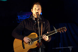 Brandon Heath - Image: Brandon Heath Revelation Tour 2009