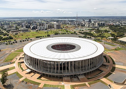 Brasilia aerea estadio nacional