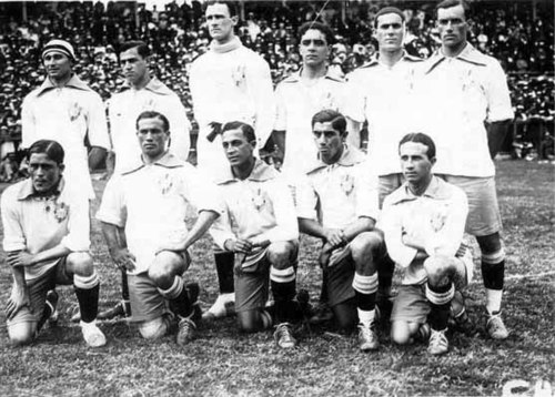 Brazil achieved its first championship in 1919. Brazil-CopaAmerica-1919.jpg