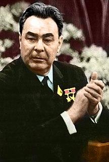 Leonid Brezhnev General Secretary of the Communist Party of the Soviet Union 1964–1982