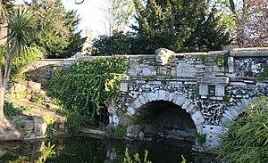 Walpole Park - Ornamental bridge by Soane