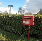 Brievenbus in Vrekkemstraat - Ursel - Aalter.jpg