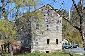 National Register of Historic Places listings in Amherst County, Virginia - Image: Brightwells Mill