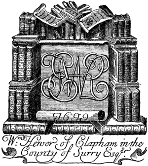 Britannica Book-Plates - William Hewer 1699.png