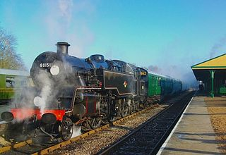 Bluebell Railway heritage railway in East Sussex, England