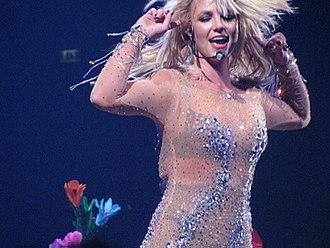 Blackout (Britney Spears album) - Image: Britney OOB London