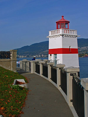 Views from the Seawall in Stanley Park