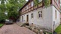 Brockwitz Niederseite 28 Wohnhaus, Scheune, Torpfeiler und Einfriedung eines Bauernhofs II.jpg