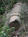 Broken pipe near HKMCD water tank.JPG