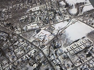 Allendale School District - Aerial view of Brookside School, January 2011