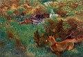 Bruno Liljefors - Fox stalking wild ducks 1913.jpg