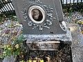 Bucuresti, Romania. Cimitirul Bellu Catolic. Unul din cele 7 morminte care fac minuni. Mormantul lui Fr. Egesius (1845-1902). Rectorul Scoalelor Arhiepiscopale.jpg