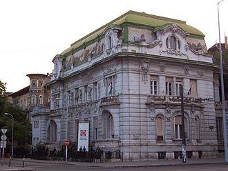 Fidesz - The former main office building of Fidesz