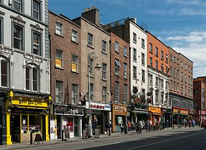Buildings on Dame Street, Dublin 20150808 1