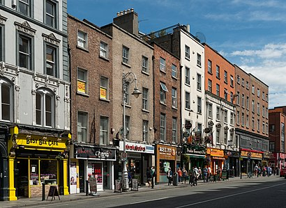 How to get to Dame Street with public transit - About the place
