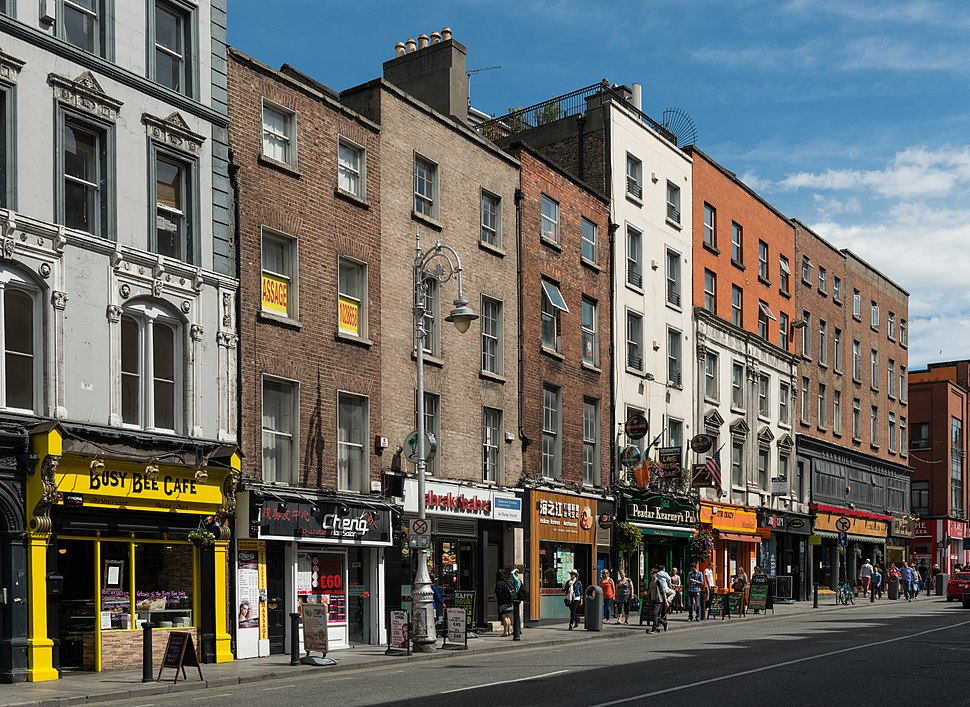 Buildings on Dame Street, Dublin 20150808 1