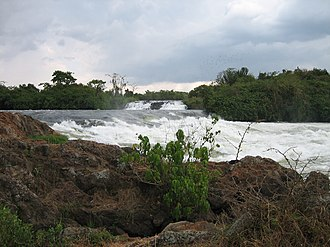 Bujagali Hydroelectric Power Station - Image: Bujagali detail