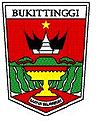 Official seal of Bukittinggi