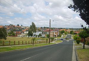 Bulleen, Victoria - Yarra Valley Boulevard estate