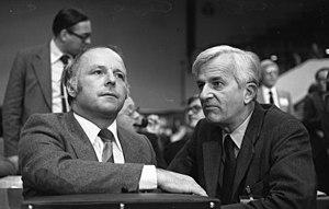 Norbert Blüm - Norbert Blüm (left) with Richard von Weizsäcker in 1978