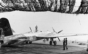 Strategic bomber - The only operational strategic bomber with the Luftwaffe in World War II was the troubled Heinkel He 177.