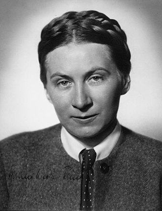 Ernst Klink - Gertrud Scholtz-Klink, Klink's mother, was head of the National Socialist Women's League.