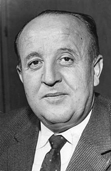 Hermann Höcherl en 1961.
