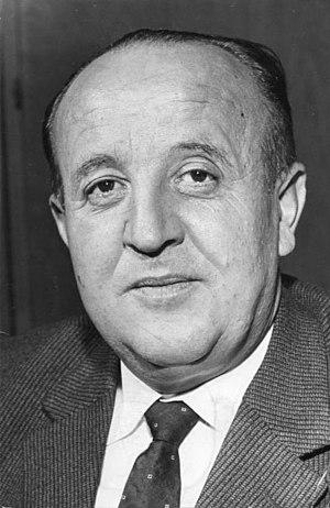 Roding, Germany - Hermann Höcherl in 1961