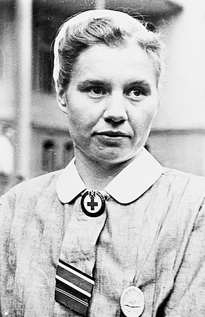 Women in the military - Second female to win the Iron Cross, nurse Elfriede Wnuk