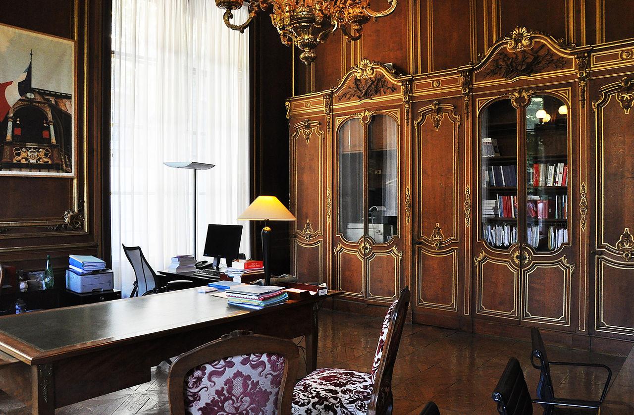 file bureau danton de l 39 h tel de bourvallais wikimedia commons. Black Bedroom Furniture Sets. Home Design Ideas