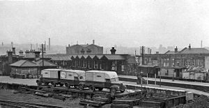 Burnley Central railway station - The station in 1962