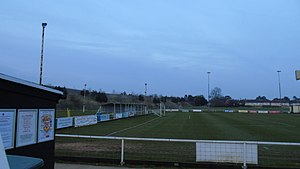 Burton Park Wanderers F.C. - Image: Burton Park Wanderers fc morrisons end covered end walkway