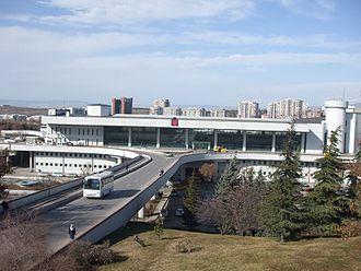 AŞTİ - Image: Bus terminal AŞTİ