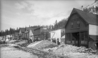 Red Mountain Town, Colorado Ghost town in Ouray County, Colorado